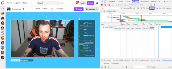 How to download videos with Developer Tools