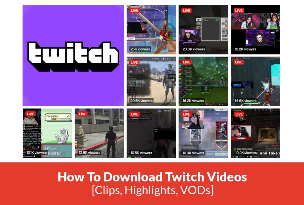 How to download Twitch clips, highlights, VODs