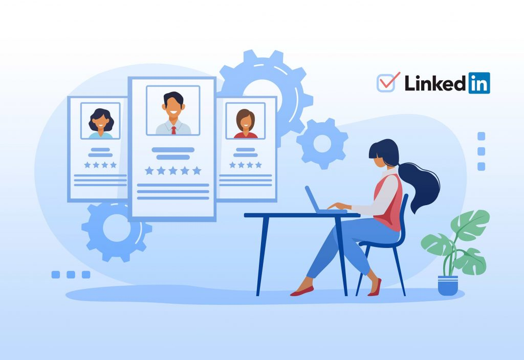 Engage with employees on LinkedIn